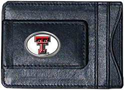 NCAA Texas Tech Red Raiders Cash and Card Holder, White Logo