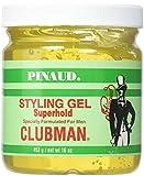 Clubman Style Gel Super Hold 473 ml Jar For Men (Haargel)
