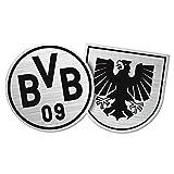 Unbekannt Borussia Dortmund Aufkleber, Sticker, Auto Wappen - Plus Gratis Lesezeichen I Love Dortmund