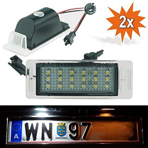 DoLED 189 J08 LED Kennzeichenbeleuchtung mit E-Prüfzeichen