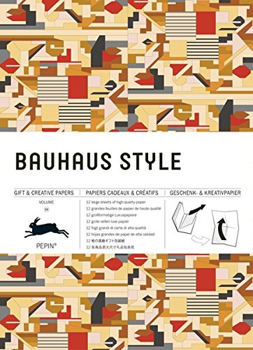 Bauhaus Style: Gift & Creative Paper Book: Vol. 64 (Giant Artists Colouring Books)