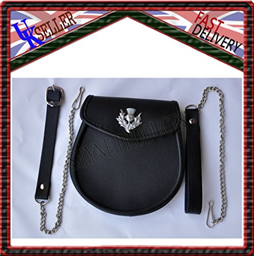 leather-sporran-leather-with-chrome-thistle-crest-free-chainstrap