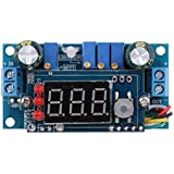 MagiDeal 5A MPPT Solar Panel Controller DC-DC Step-down CC/CV Charging Module Display LED