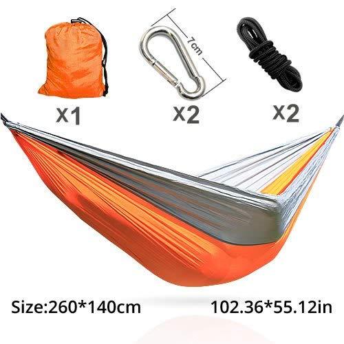 Bureze Hamac Longueur 300 cm Largeur 200 cm Double Personne Utilisation LGBT 6 Arc-en-Ciel hamacs
