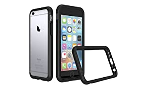 iPhone 6/6s Bumper Case [CrashGuard By RhinoShield] | Shock Absorbent Slim Design Protective Cover [3.5 Meter/11 feet Drop Protection] Apple - Black