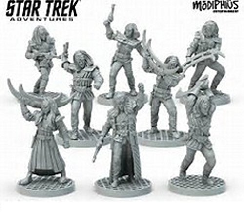 Star Trek: Star Trek Adventures: Klingon Warband (32MM Minis Box Set)
