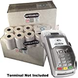 eposbits® Marke Full Größe große Rolls to Fit Verifone vx520C VX 520C Kreditkarte Terminal?60Rollen