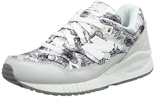 New Balance Damen W530 Sneakers Weiß (White Print)
