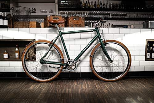 OPELIT Downtown Citybike, 8 Gang Herren-Fahrrad, 60 cm Rahmenhöhe, Aluminium Hydro Rahmen 28