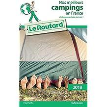 Guide du Routard nos meilleurs campings en France 2018