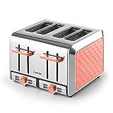 Klarstein Curacao Coral Toaster - 4