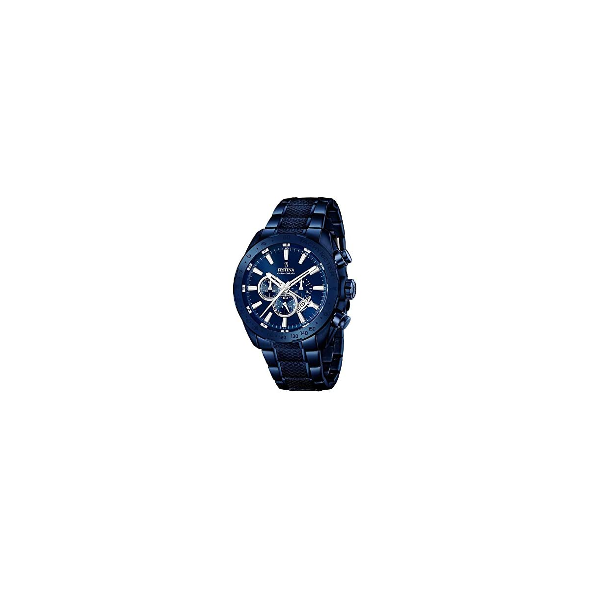 512zne1xcoL. SS1200  - Festina F16887/1 - Reloj para hombre esfera cronográfica, correa de acero inoxidable, azul