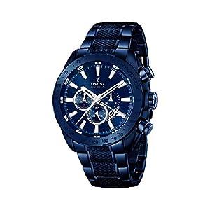 Festina F16887/1 – Reloj para hombre esfera cronográfica, correa