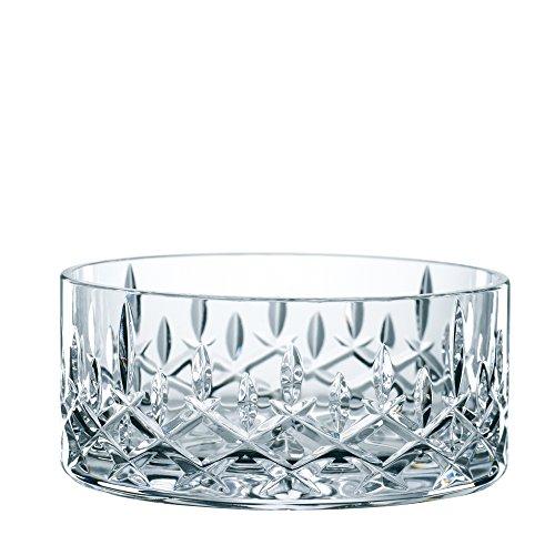 Spiegelau & Nachtmann 2-teiliges Schalen-Set, Kristallglas, Ø 11 cm, Noblesse, 0096060-0 (Obst Möbel)