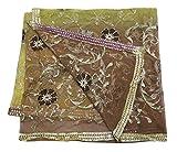 PEEGLI Indian Ethnischen Dupatta Netzstoff Frauen Schal
