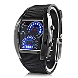Shvas Digital Black Dial Men's Watch JMD...