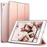 ESR iPad Mini Case, iPad Mini 2 / Mini 3 Case,Ultra-slim Lightweight Smart Case with Trifold Stand and Auto Sleep/Wake, Microfiber Lining, Translucent Frosted Back for iPad Mini 1/2/3 (Rose Gold)