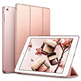 ESR Coque iPad Mini, Slim-Fit Housse Etui Smart Cover PU Cuir pour Apple iPad Mini 3 / iPad Min 2 / iPad Mini avec Fonction Veille Automatique - Yippee Color Series (Or Rose)
