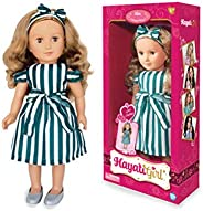 My life girl saba striped dress