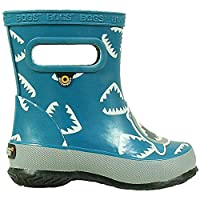 BOGS Boys Infants Skipper Animal Shark Blue Rainboots Wellies 72374K-UK 3 (EU 20)