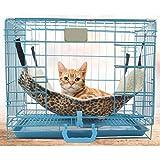 Hunpta Polyester Haustier Ratte Kaninchen / Frettchen Chinchilla / Katze Hängematte Bett Abdeckung Tasche Decken (27x27cm, Multicolor A)