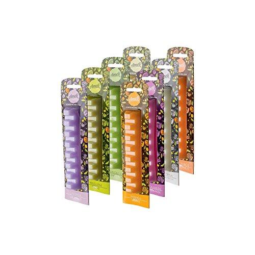 Ameli cm, colore: bianco/arancione/verde oliva/tè verde e rosa e tè verde e giallo limone/cotone fresco, colore: vaniglia/panna/mango Sweet