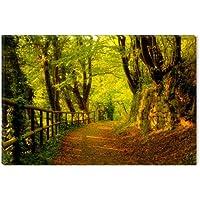 Startonight Cuadro sobre Lienzo Invitación en el Bosque, Impresion en Calidad Fotografica Enmarcado y Listo Para Colgar Diseño Moderno Decoración Formato Grande 60 x 90 CM