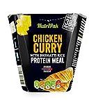 Comida proteica de pollo al curry con arroz basmati 300 g
