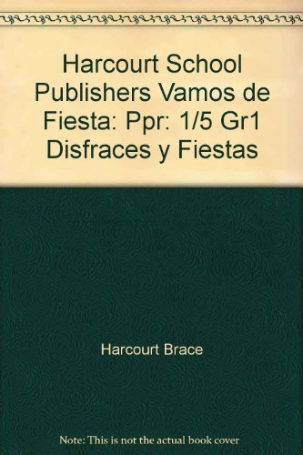 SPA-HARCOURT SCHOOL PUBLS VAMO (Harcourt School Publishers Vamos de Fiesta) por Harcourt Brace