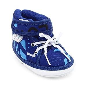 CHIU Chu-Chu Blue Shoes With Lace For 9-12 Months