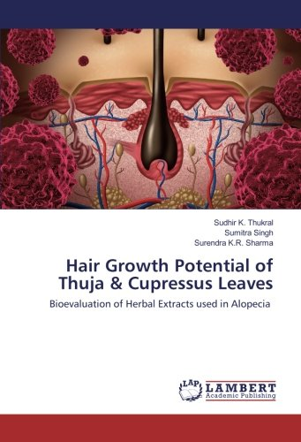 Hair Growth Potential of Thuja & Cupressus Leaves: Bioevaluation of Herbal Extracts used in Alopecia