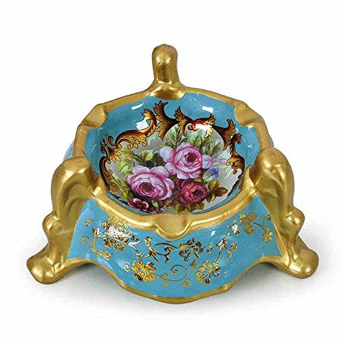 Posacenere Ceramica Home Furnishings decorazioni della stanza Posacenere creativo Soggiorno Tavolino Posacenere ( colore : 1 )