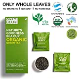 #9: Onlyleaf Organic Green Tea, 27 Tea Bags with 2 Free Exotic Samples
