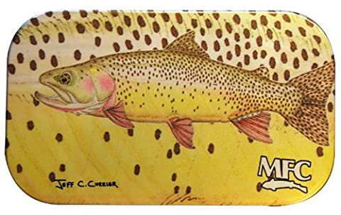 MFC Currier Aluminum Fly Box Foam, Snake River Cutty by MFC
