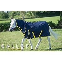 Gallop Trojan - Manta de caballo con cuello, 200g - EU 125cm
