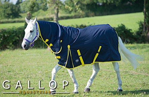 Gallop Trojan - Manta de caballo con cuello, 200g - EU 115cm