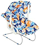 #9: Flipzon Multicolour Baby Carry Cot 10 In 1 (Blue)