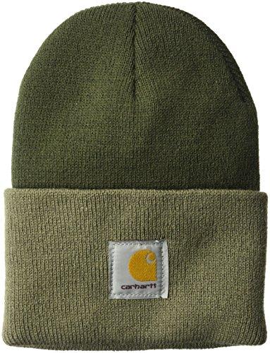 Carhartt Acrylic Watch Hat Mütze (Größe = OneSize, Farbe = Dark Green/Driftwood)