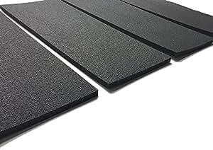 nestchen f r garage w nde box auto set von 4 x platten selbstklebend stark farbe ral 7026. Black Bedroom Furniture Sets. Home Design Ideas