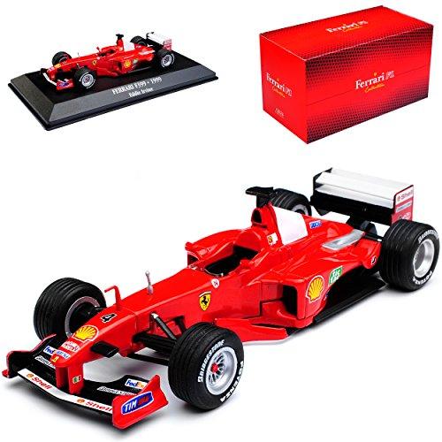 Atlas Ferrari F399 1999 Eddie Irvine Formel 1 1/43 gebraucht kaufen  Wird an jeden Ort in Deutschland