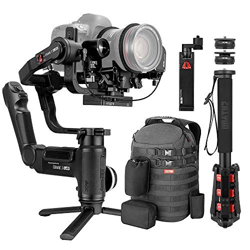 ZHIYUN CRANE 3 lab [UFFICIALE] 3-Axis Handheld Gimbal Stabilizzatore (Master Package)