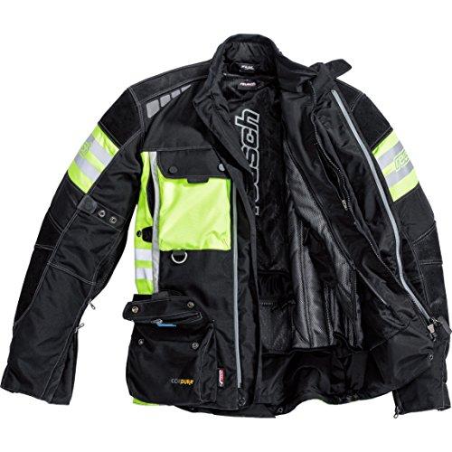 reusch reusch Veste de moto cuir/textile 1.0 Jaune - Neon-Gelb