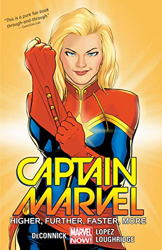 Collects Captain Marvel (2014) #1-6.One of Marvel's most beloved Avengers launches into her own ongoing series! Carol Danvers has played many roles in her life; hero, pilot, Avenger, and now, deep-space adventurer!  Join Captain Marvel as she attempt...