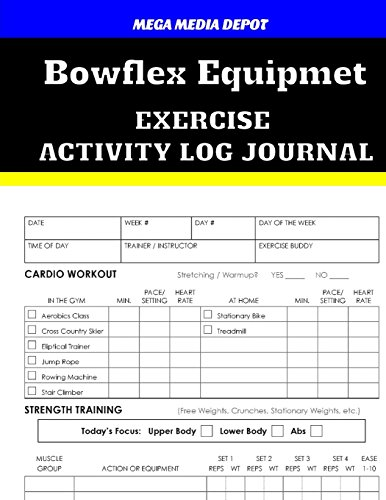 bowflex-equipment-exercise-activity-log-journal