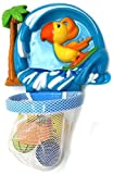 VERZABO SURFER PARROT BASKETBALL - bath toy set for 12 months plus babies