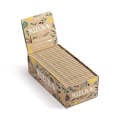 rizla-natura-standard-regular-sizenew-product-from-rizla-box-of-50-booklets-by-trendz
