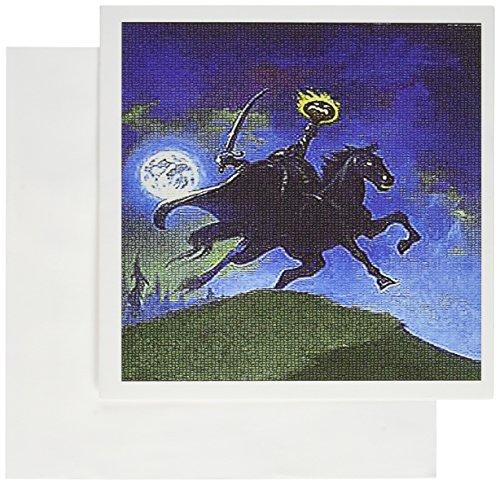 12 X Reiter (3dRose gc_36405_2 Grußkarten, ohne Kopf und Reiter, 15 x 15 cm, 12 Stück)