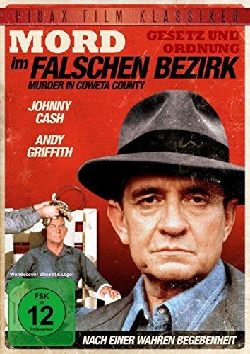 """Mord im falschen Bezirk (Murder In Coweta County) / Spannender Kriminalfilm nach einer wahren Begebenheit mit Johnny Cash und """""""