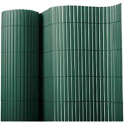 Sichtschutz Zaun für Außenbereich | grün | Größe wählbar (100x500cm)