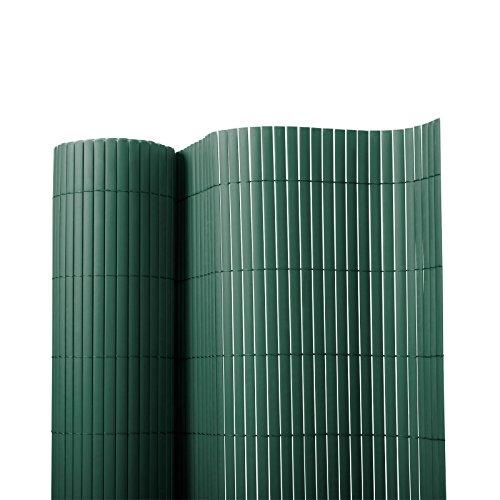Sichtschutz Zaun für Außenbereich | grün | Größe wählbar (120x300cm)